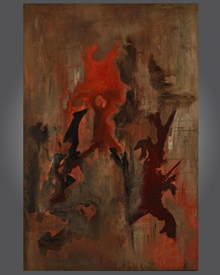 Artist: Paul Harrington - Title: East Fusion - Medium: Acrylic Painting - Year: 2010