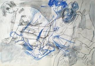 Antonio Trigo: 'Baile IV', 2011 Other Drawing, People.
