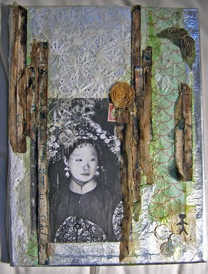 Aryn Chapman Artwork Silk Road, 2008 Collage,