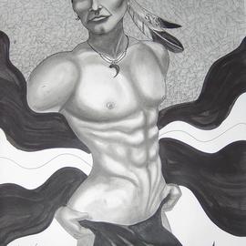 Troy Whitethorne Art American Warrior 2008