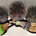 Three Indian Baskets of Arizona By Troy Whitethorne