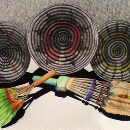 Three Indian Baskets of Arizona