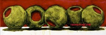 - artwork red__olives-1173073171.jpg - 2007, Painting Oil, Still Life