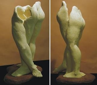 Terry Mollo: 'Danzante', 2004 Ceramic Sculpture, Dance. Artist Description: Dancing....