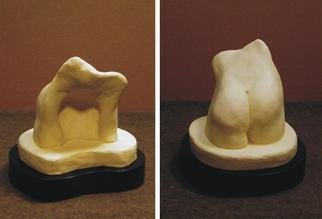 Terry Mollo: 'Pelvis Model', 2001 Ceramic Sculpture, Figurative. Artist Description: This stoneware piece is the original maquette for the marble pelvis above....