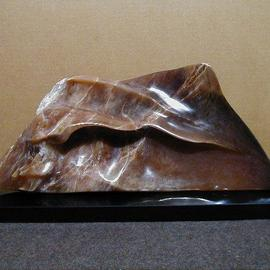 Terry Mollo Artwork The Wave, 2002 Stone Sculpture, Seascape