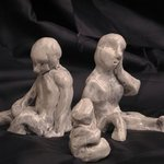 figurine family By Thomas Van Horn
