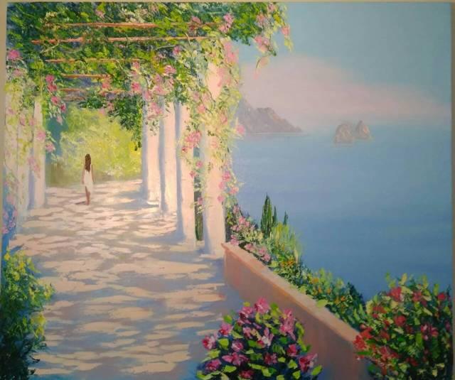 Natalia Kolesnichenko, Mediterranean Landscape