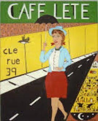 Thomas Mccabe: 'cafe lete', 2001 Acrylic Painting, Cuisine. Artist Description: A fictitious restaurant that I created. ...