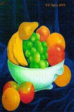 - artwork THE_WHITE_DISH_3____PRINT-1359815937.jpg - 2013, Digital Print, Still Life