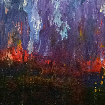 , Twilight, Abstract, $998