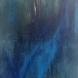 , Blue Melody, Abstract, $998