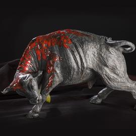 Ulderico Pinfildi Artwork il toro, 2011 Other Sculpture, Animals