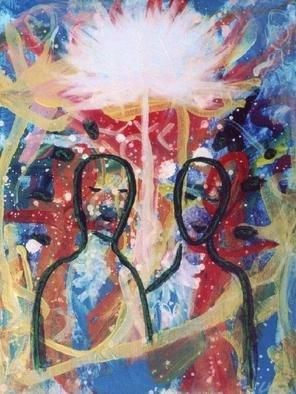Ulrich Gerhard Osterloh Artwork 'New Day', 2004. Acrylic Painting. Healing. ...