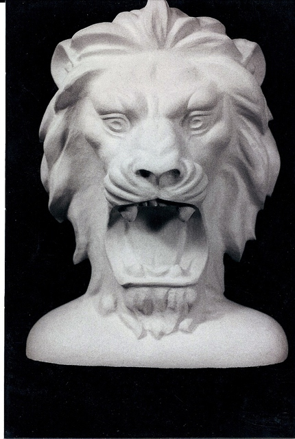 Depasquale Sculptures: The Lion, 1998 Stone Sculpture