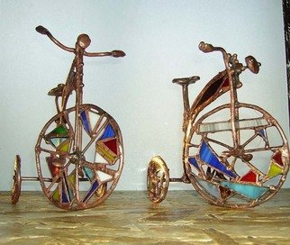 Lolita Sadauskaite Artwork bicycle, 2008 Glass Sculpture, Abstract