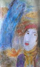 - artwork _Enamoured-1303052301.jpg - 2011, Painting Oil, Figurative