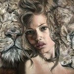 queen of lions By Valentina Andrees
