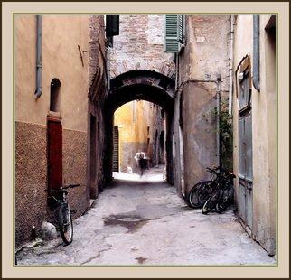Michael Seewald Artwork Ghost biker, Foligno, Umbria, Italy 2005, 2005 Ghost biker, Foligno, Umbria, Italy 2005, Cityscape