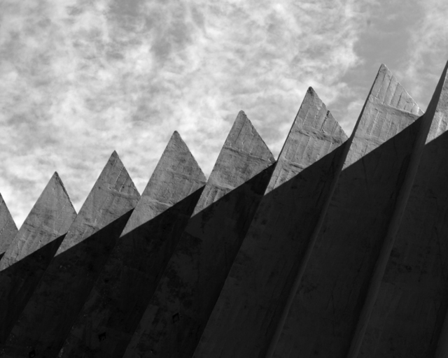 Frank Sampi  'Zig Zag', created in 2008, Original Photography Black and White.