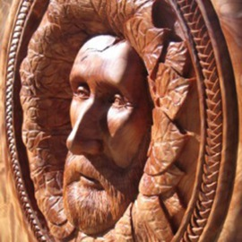 Daniel Holtendorp Artwork Henry Nola, 2014 Wood Sculpture, Life