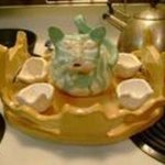 Cat Tea Cup Set By Kelly Doman