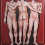 the three graces By Varvara Vitkovska
