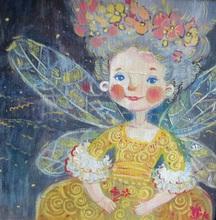 - artwork Little_Dragonfly-1319830246.jpg - 2010, Painting Oil, Figurative