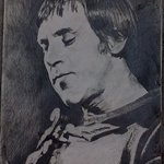 The portrait of V Vysotsky By Vasily Zolottsev