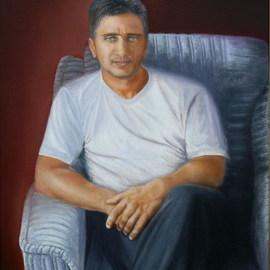 The portrait of a man