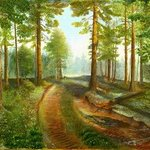 The wood road By Vasily Zolottsev