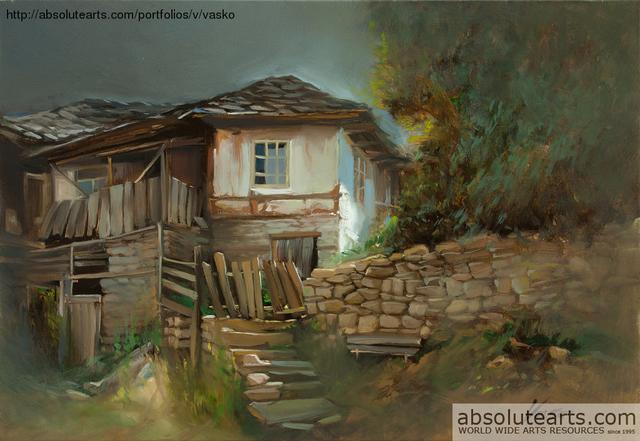 Vasil Vasilev Nostalgia Painting Oil Artwork