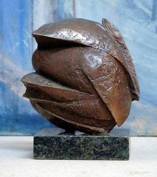 Venelin Ivanov: 'blossom2', 1995 Bronze Sculpture, undecided.
