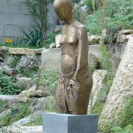 Venelin Ivanov Artwork torso, 2005 Bronze Sculpture, Figurative
