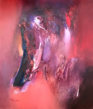 Vesko Ivanov: 'stealthily', 2016 Oil Painting, Abstract. Artist Description: painting oil on canvas...