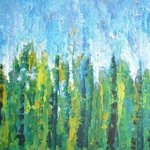 Poplar Trees By Valerie Leri