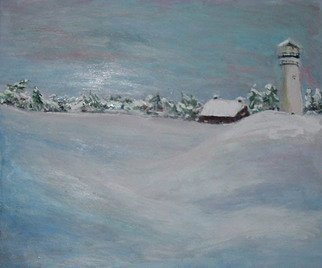 Artist: Valerie Leri - Title: Winter Hill - Medium: Acrylic Painting - Year: 2010