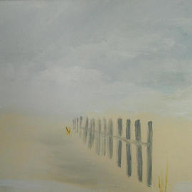 beach fence 2  By Valerie Leri