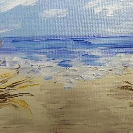 beach grass  By Valerie Leri