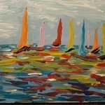 Sailing In Color, Valerie Leri