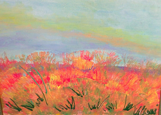 Valerie Leri  'Sandwich Marsh', created in 2015, Original Painting Acrylic.