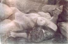 - artwork Alma-1026774336.jpg - 2002, Drawing Charcoal, Figurative