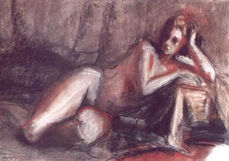 Viana Rodriguez Etcheto Artwork mujer, 1998 Other Drawing, Figurative