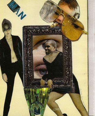 Collage by Victor Kozlov titled: 08, 2009