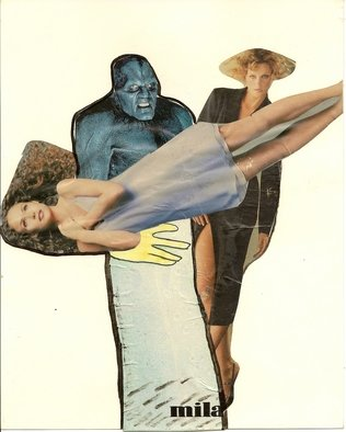 Collage by Victor Kozlov titled: 16, 2009