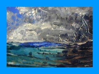 Victor Kozlov Artwork Landscape, 1998 Oil Painting, Landscape