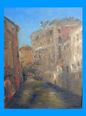 Victor Kozlov Artwork Venice3, 2001 Oil Painting, Cityscape