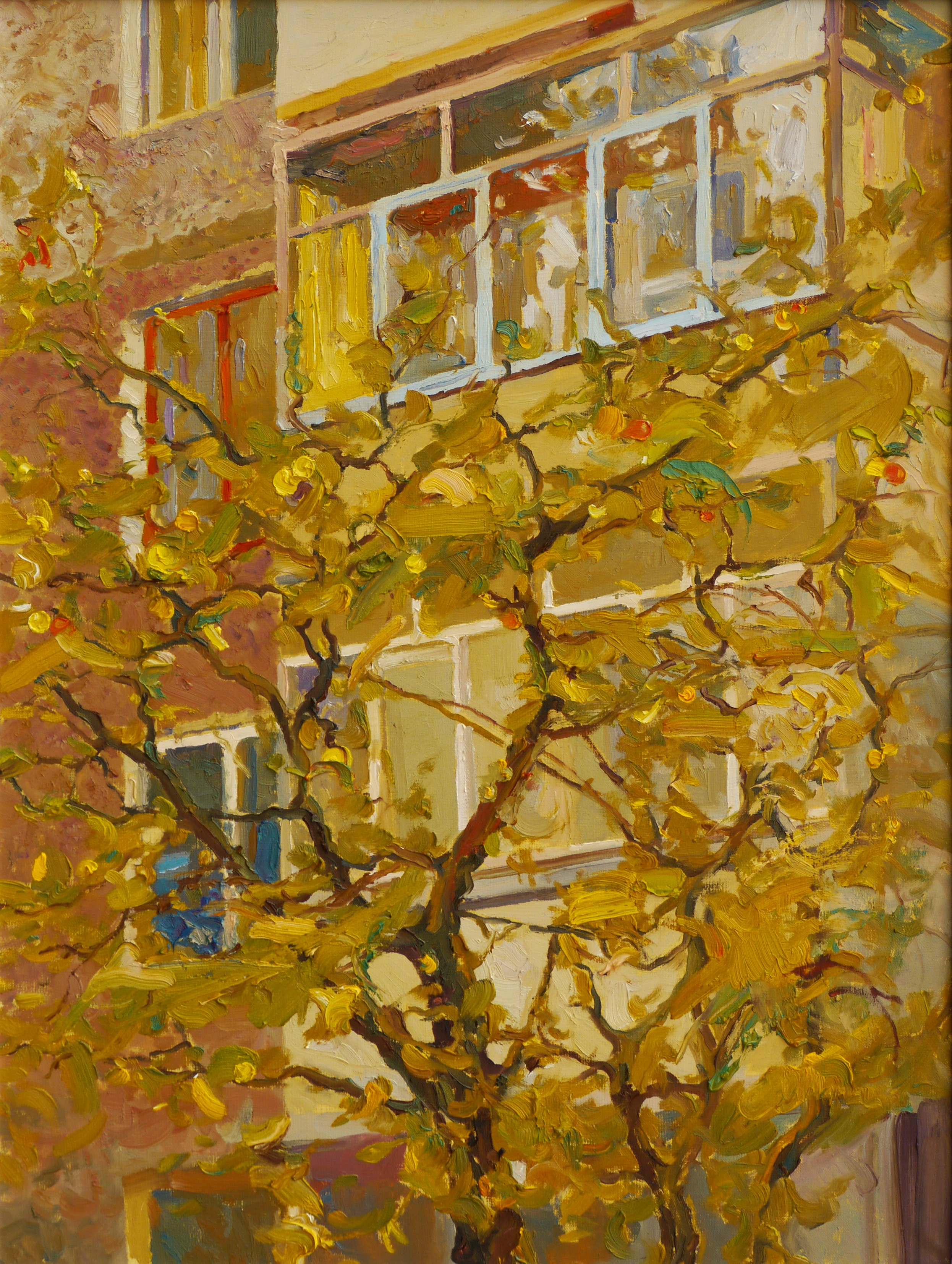 Apple Tree Oil Painting By Victor Onyshchenko Absolutearts Com