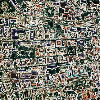 Vincenzo Montella: 'Maps 9', 2009 Other Printmaking, Maps.  inkjet print on pvc ...