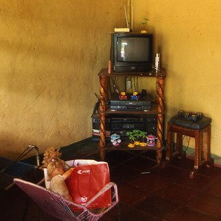 Artist: Vincenzo Montella - Title: television - Medium: Color Photograph - Year: 2002